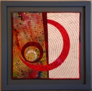 Swing Low (Dewit Red), 10''x10''