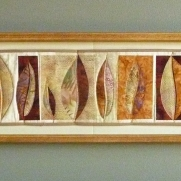 Autumn Leaf Collection, 8''x40''