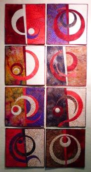 DeWit Red, 10''x10'' each