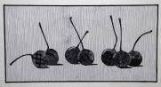 Still Life: Cherries, 16''x31''
