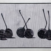 Still Life: Cherries, 16''x31''